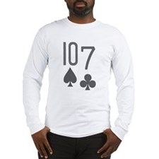 10-7 Daniel Negreanu Poker Long Sleeve T-Shirt