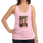 GOLDILOCKS_PINK.png Racerback Tank Top