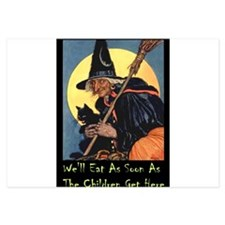 2-WITCH - WELL EAT 10x14.png Invitations