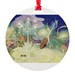 The Fairy Circus007_10x14.png Round Ornament