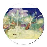 The Fairy Circus007_10x14.png Round Car Magnet
