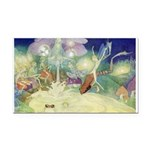 The Fairy Circus007_10x14.png Rectangle Car Magnet