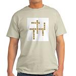 Massage Therapy Crossword Ash Grey T-Shirt