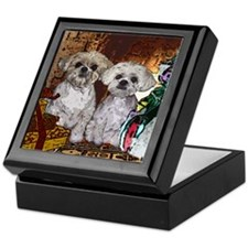 Shih Tzu Christmas MuggsMattie Keepsake Box