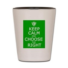 Keep Calm and CTR Shot Glass