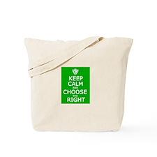 Keep Calm and CTR Tote Bag