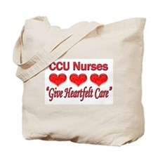 CCU Nurses - Heartfelt Care Tote Bag