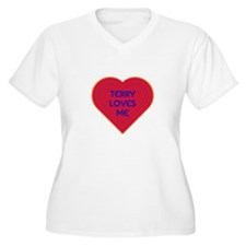 Terry Loves Me Plus Size T-Shirt