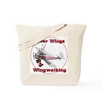 Silver Wings Wingwalking Tote Bag
