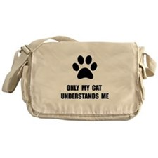 Cat Understands Messenger Bag