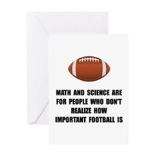 Football Important Greeting Card
