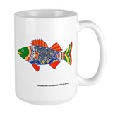 A Creative Walleye Mug