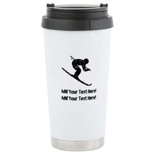 Personalize It, Skier Travel Mug