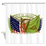 Erin Go Bragh Irish Flags Shower Curtain