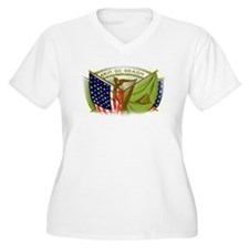 Erin Go Bragh Irish Flags Plus Size T-Shirt