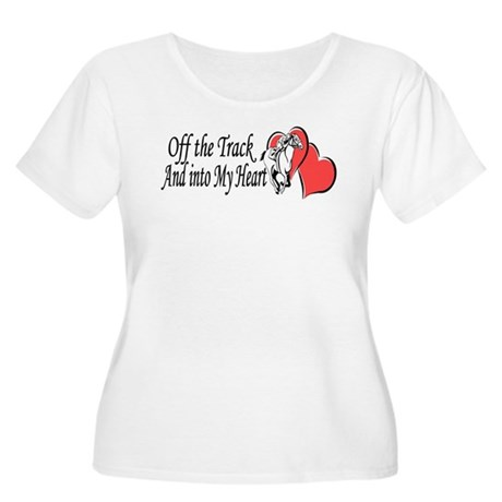 Off The Track LOVE Plus Size T-Shirt