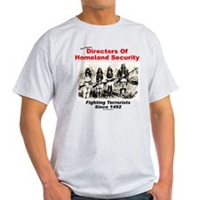 Homeland Security Since 1492 Ash Grey T-Shirt