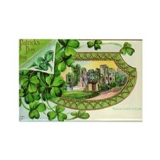 St Patrick Day Card Rectangle Magnet (10 pack)