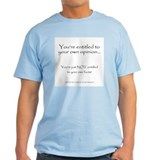 2-your.own.facts.psd T-Shirt