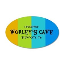 I Survived Worleys Cave Wall Decal