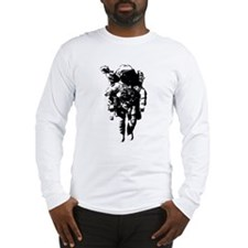 The Astronaut Moon Man Long Sleeve T-Shirt
