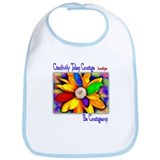 Creativity Flower Bib