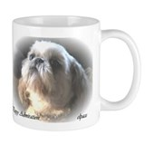 Cute Shih tzu holiday Mug