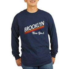 Vintage 1970s Brooklyn Long Sleeve T-Shirt