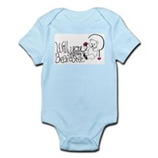 Will you be my BEARasite? Infant Bodysuit