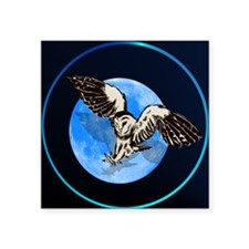 Blue Moon Owl Sticker