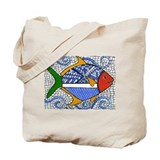 A Light Fun Mosaic Tote Bag