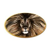 Big Cat Colorful Jungle Trans Wall Decal
