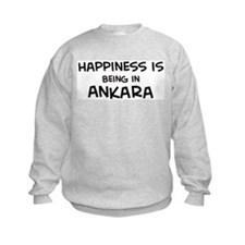 Happiness is Ankara Sweatshirt
