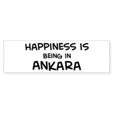 Happiness is Ankara Bumper Bumper Sticker