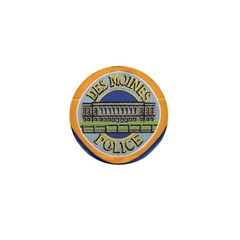 Des Moines Police Mini Button (100 pack)