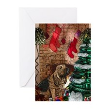 Bloodhound Christmas Greeting Cards (Pk of 10)