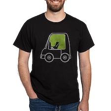 T-Rex Driving T-Shirt