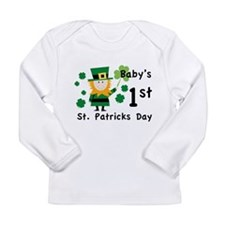 Baby's 1st St. Patrick's Day Long Sleeve Infant T-