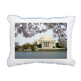 Thomas Jefferson Memorial Rectangular Canvas Pillo
