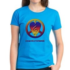 Peacelovemusic Tee