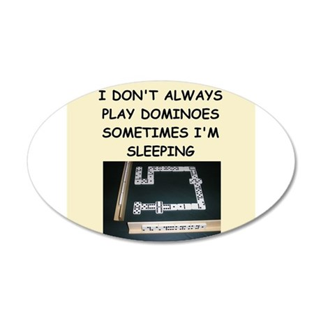 dominoes Wall Decal