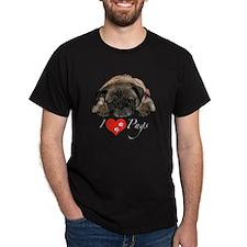 I love pugs T-Shirt