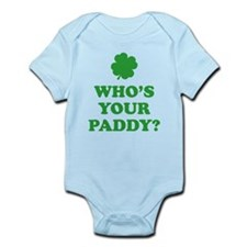 Who's Your Paddy? Onesie