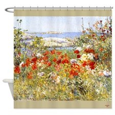 Celia Thaxters Garden Shower Curtain