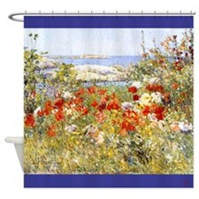 Childe Hassam Garden Shower Curtain