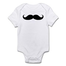 Hipster Moustache Infant Bodysuit
