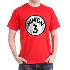 Minion 3 Three Children T-Shirt