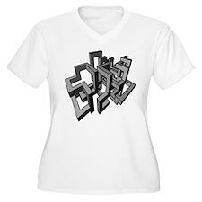 3d Plus Size T-Shirt