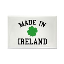 Made In Ireland Rectangle Magnet (10 pack)