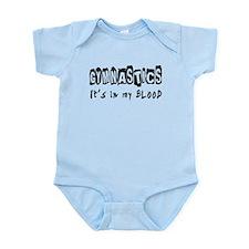 Gymnastics Designs Infant Bodysuit